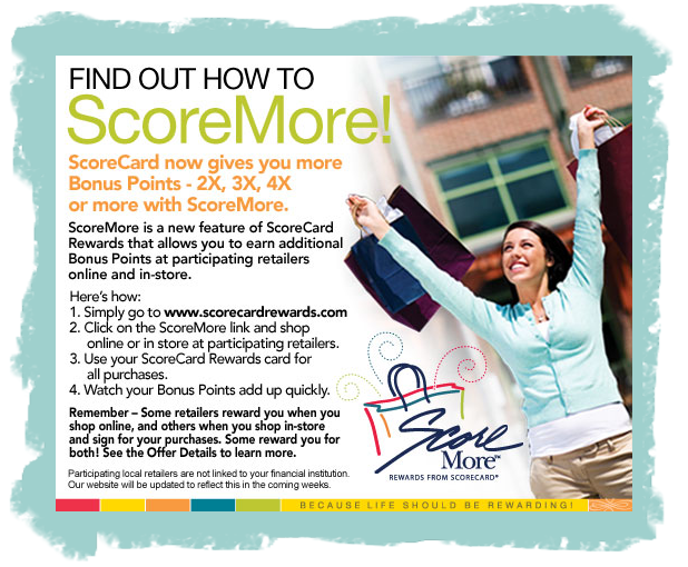 Score More with your ScoreCard