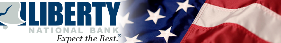Liberty National Bank Logo and Web Header