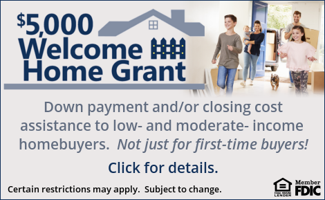 Welcome Home Grant. Click to learn more.