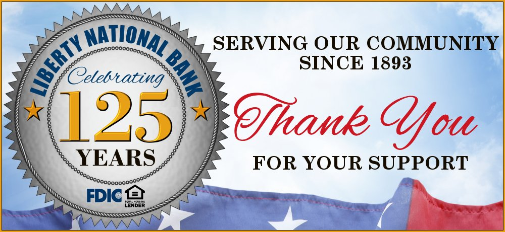 Celebrating 125 Years: Thank You for your support -- Click for history
